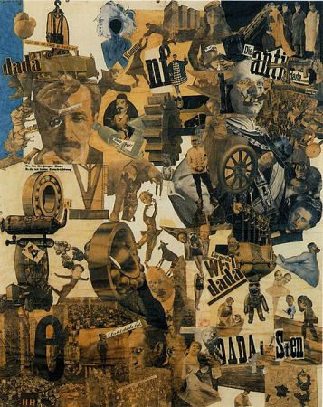 Cut with the kitchen knife; Hannah Hoch